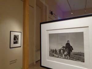 """Der Auftakt der Ausstellung """"Robert Capa / Der Spieler""""."""