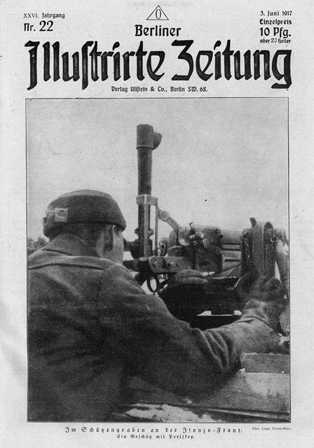 """Fotogeschichte, Heft 130, Titel """"BIZ"""" vom 3. Juni 1917"""