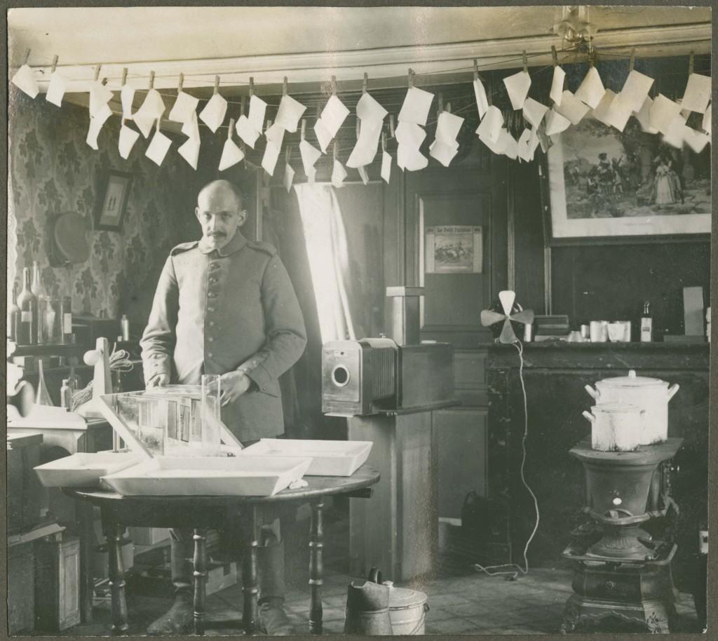 Fotokammer der bayerischen Fliegerabteilung 296, 1916