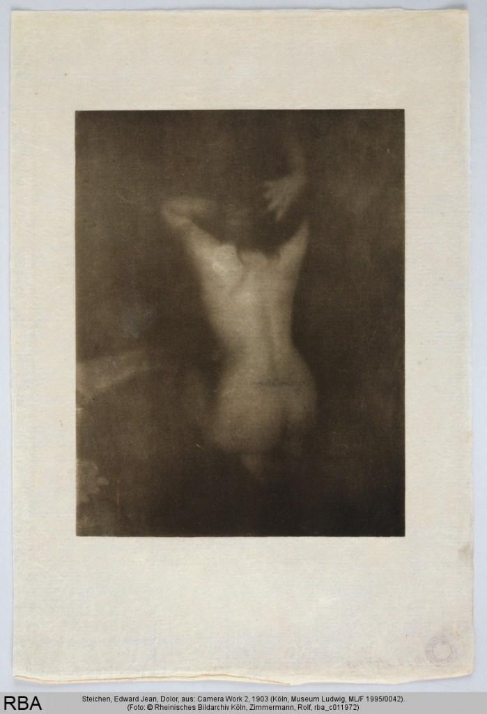 Edward-Jean Steichen: Dolor, aus: Camera Work 2, 1903, Print, Heliogravüre