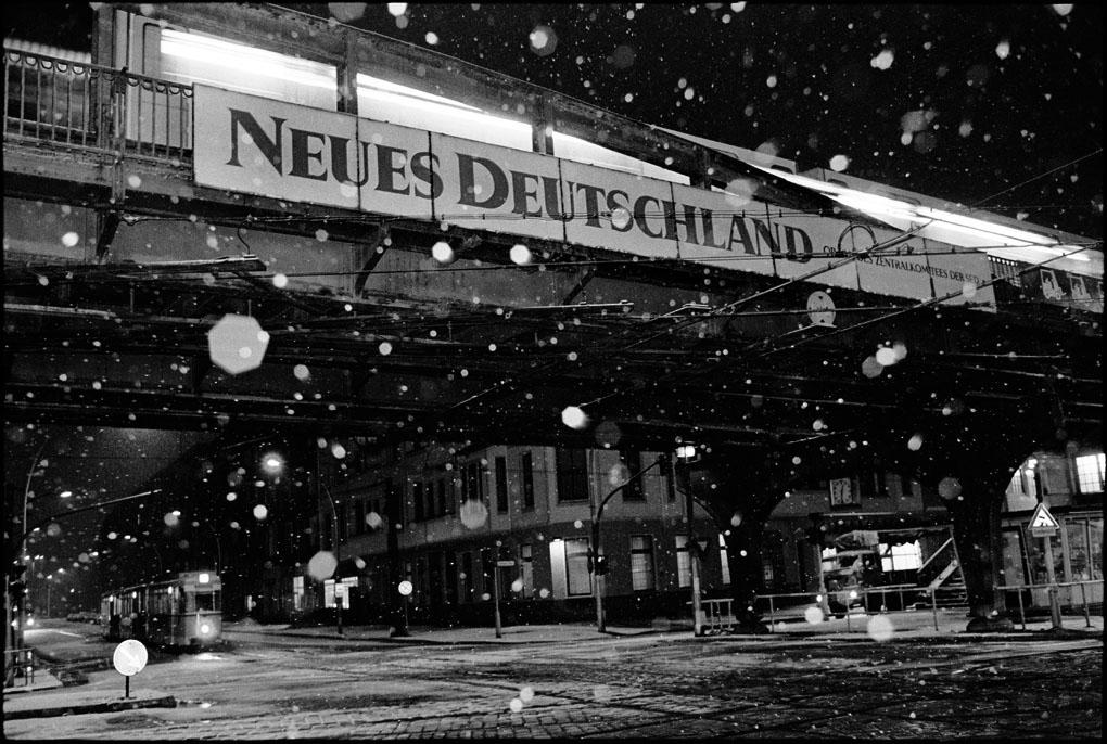 Ost-Berlin, Prenzlauer Berg, 1989