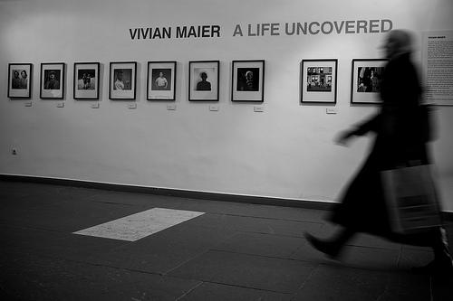 Ausstellung der Werke Vivian Maiers in München, 2011 (Foto: Thomas Leuthard/flickr)