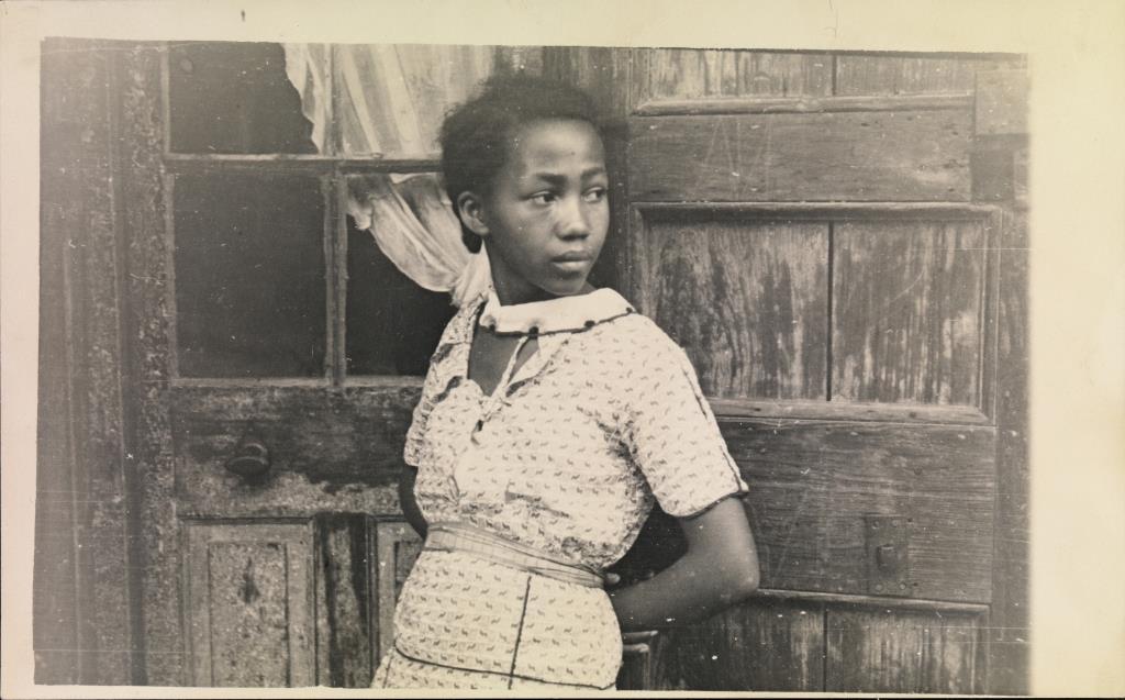 Walker Evans: Girl In French Quarter, New Orleans, Februar - März 1935