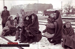 GEO Nr. 11/2004, S. 110f. Foto von Fred Ramage: Berlin, 14. Dezember 1945
