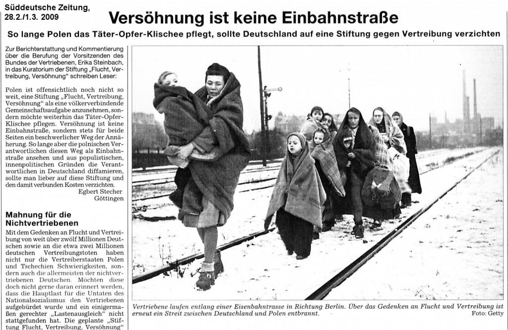 Süddeutsche Zeitung, 28.2./1.3.2009 Foto von Fred Ramage