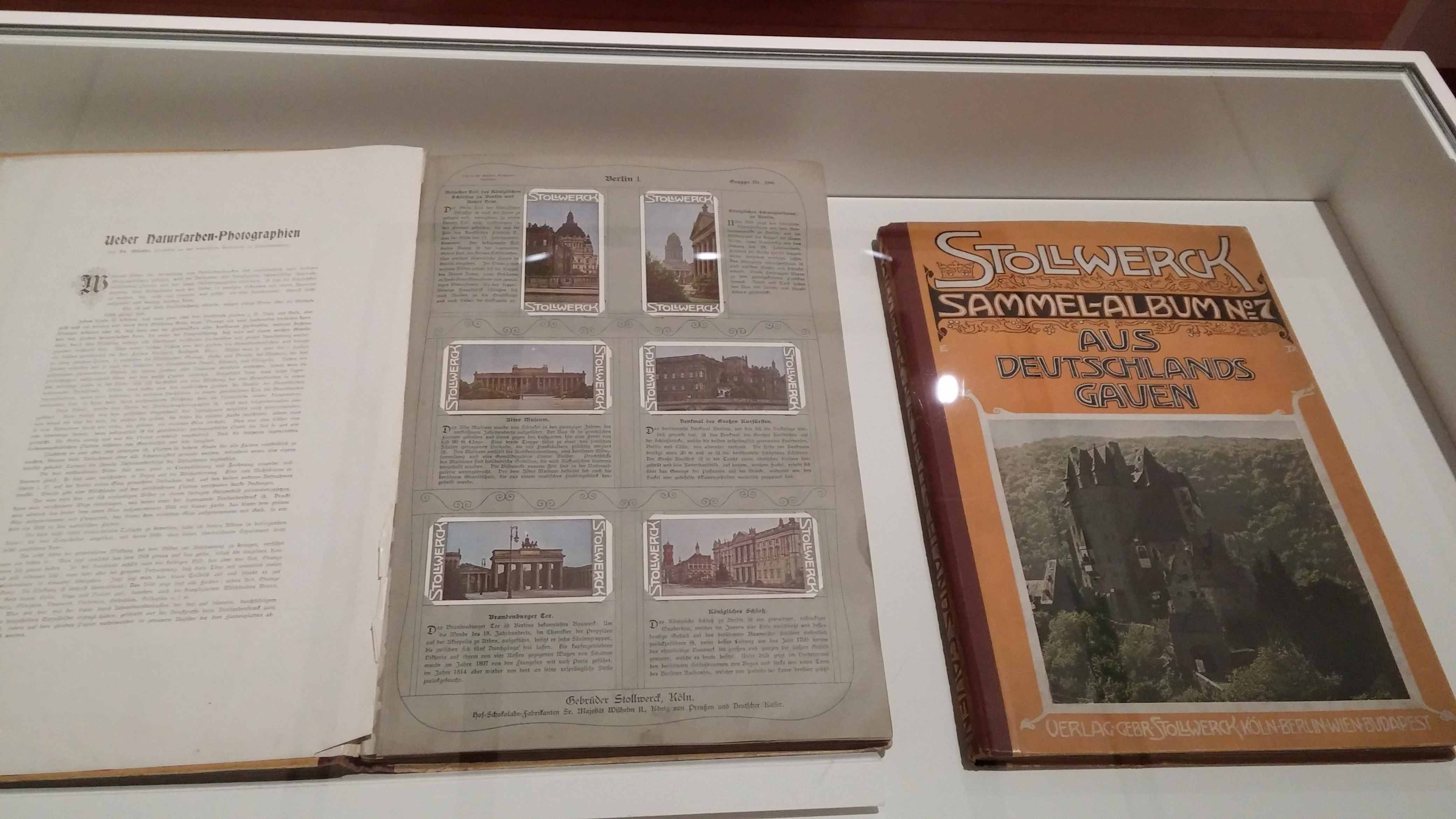 Ausstellung: Stollwerck-Sammel-Album Nr. 7. Aus Deutschlands Gauen.
