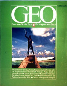 Geo - Das neue Bild der Erde - Ein Magazin vom Stern - Erstausgabe Gruner & Jahr Hamburg, 1976