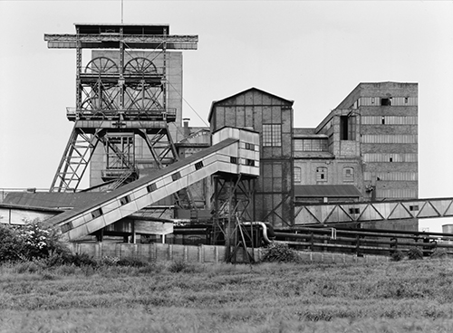 Bernd und Hilla Becher: Zeche Hannover, Bochum-Hordel, Ruhrgebiet, 1973