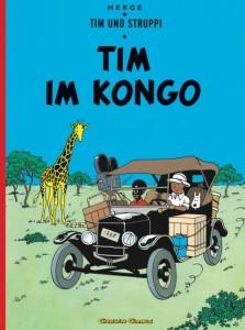Cover: Hergé, Tim im Kongo