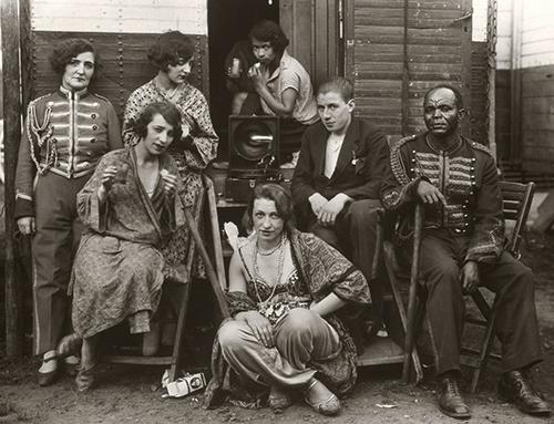 August Sander: Zirkusartisten, 1926-1932