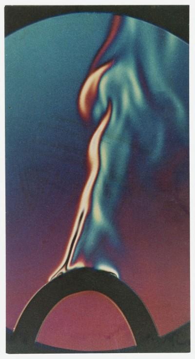 Fritz Brill: Wärmeentwicklung in einer Bügeleisenschnur kurz vor dem Kabelbrand