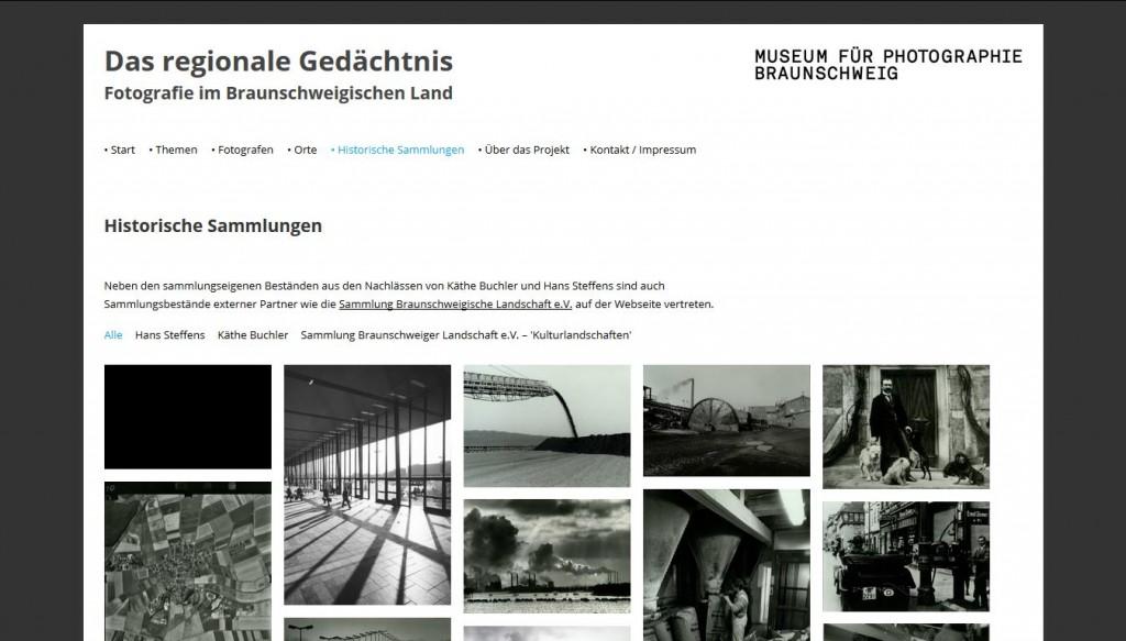 Das Online-Archiv beherbergt auch die historischen Sammlungen des Photomuseum Braunschweig.