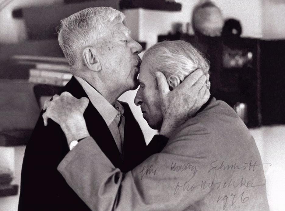 Kokoschka küsst Zuckmayer (1976)