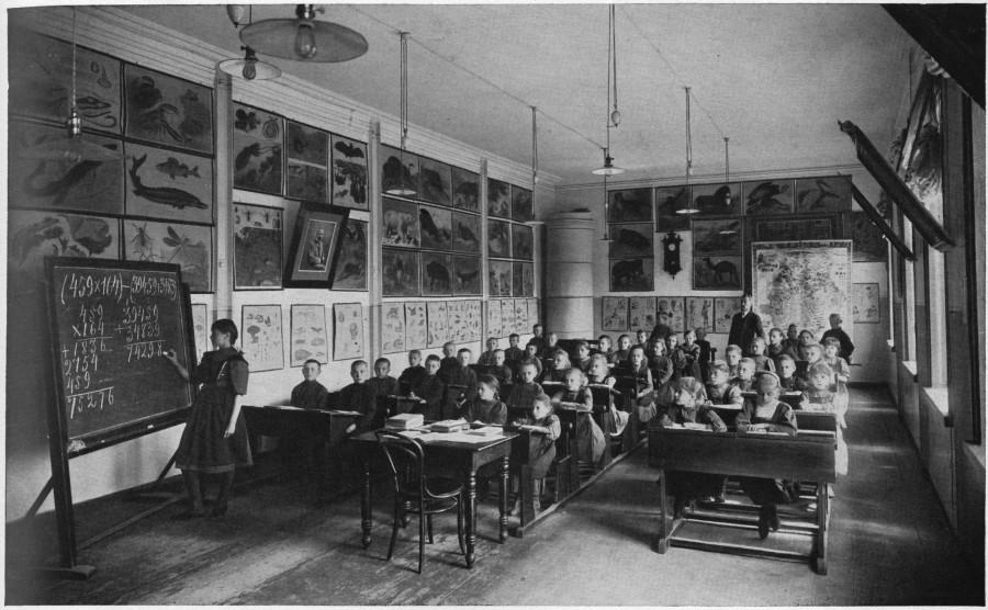 Fabrikschule, Russland, nach 1911