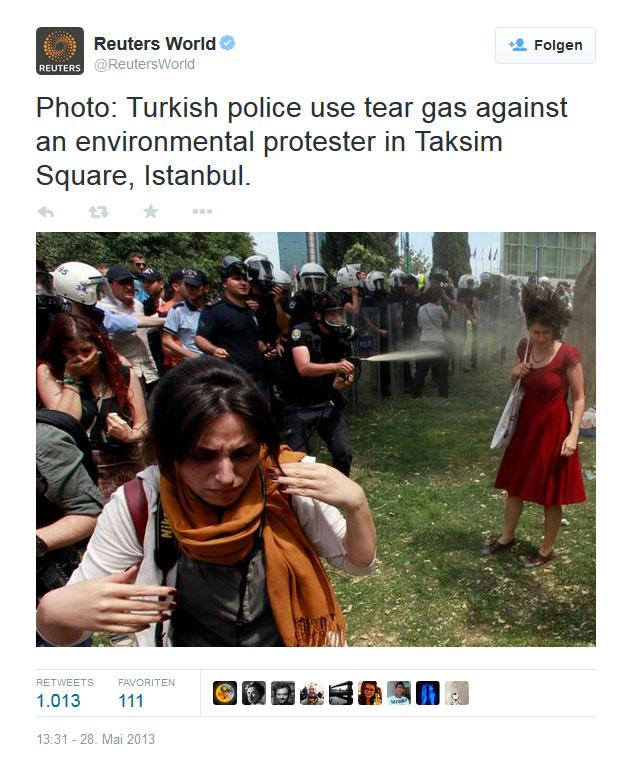Twitter: Reuters World Mai 2013