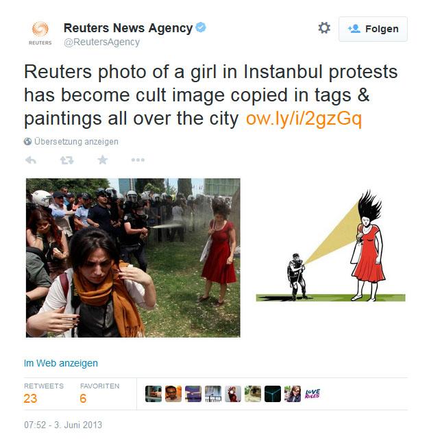 Twitter: Reuters World Juni 2013