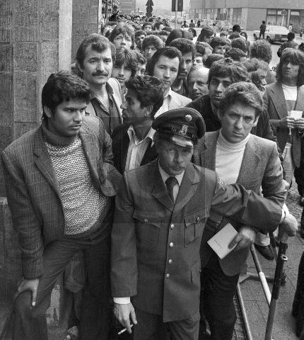 Paul Glaser: Asylstelle in Kreuzberg 1980