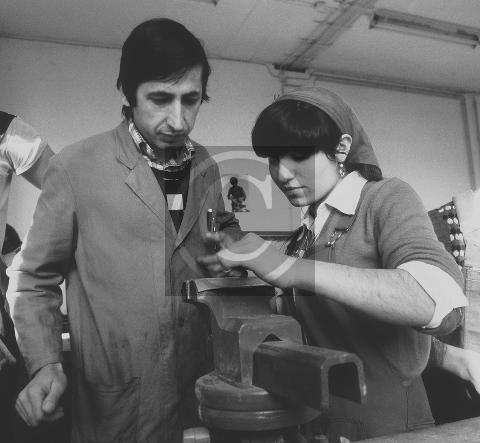 Paul Glaser: Türkische Jugendliche bei berufsvorbereitenden Maßnahmen 1981