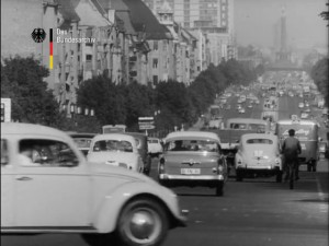 Verkehrsaufkommen in Berlin 19.12.1960 © Bundesarchiv