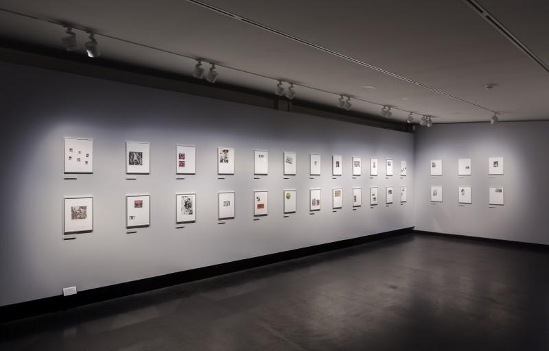 David von Becker: Ausstellungsansicht: Kunst, Freiheit und Lebensfreude
