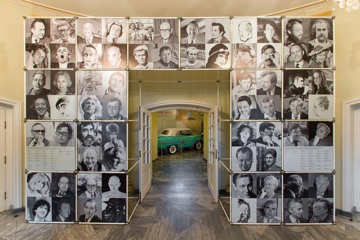 Foyer der Ausstellung