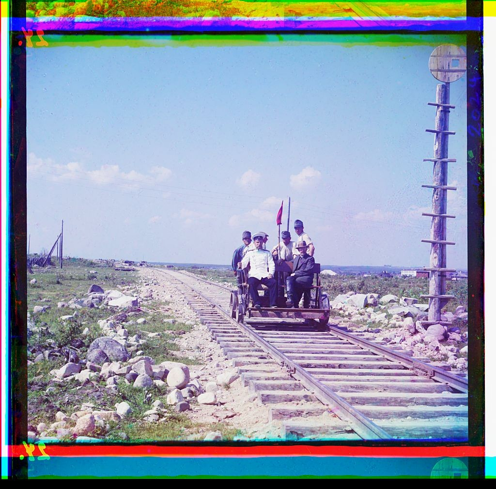 Sammlung Prokudin-Gorskij, Murmansker Eisenbahn1915