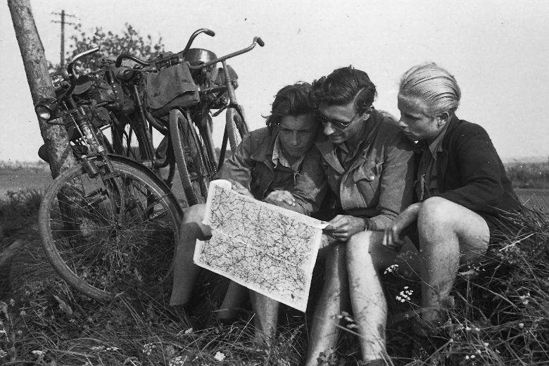Walter Nies, Junge Radfahrer