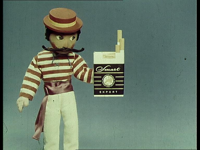 """Screenshot aus einem Werbefilm """"Smart Export"""", ca. 1965, Archiv/Rechte: Traum & Maier ©"""