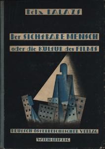 Umschlag Béla Balázs 1924