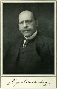 Foto Hugo Münsterberg ca. 1900