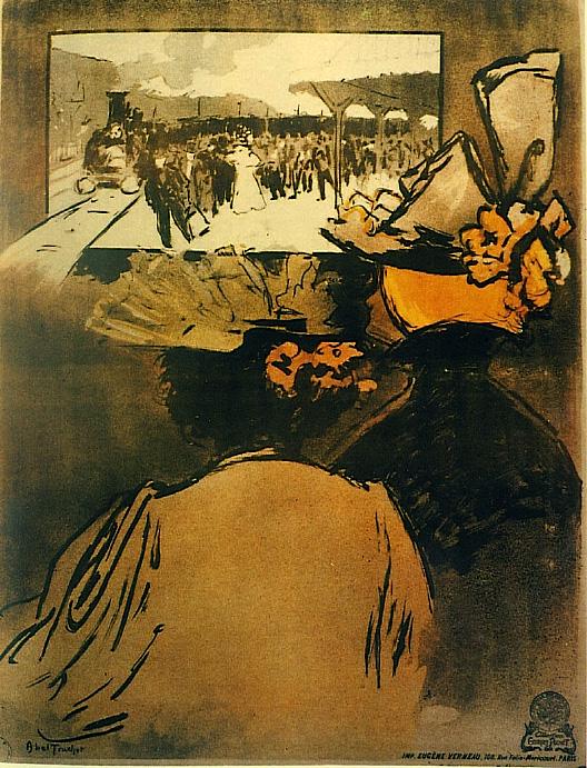 Abel Truchet, L´arrivée d'un train en gare de La Ciotat 1895