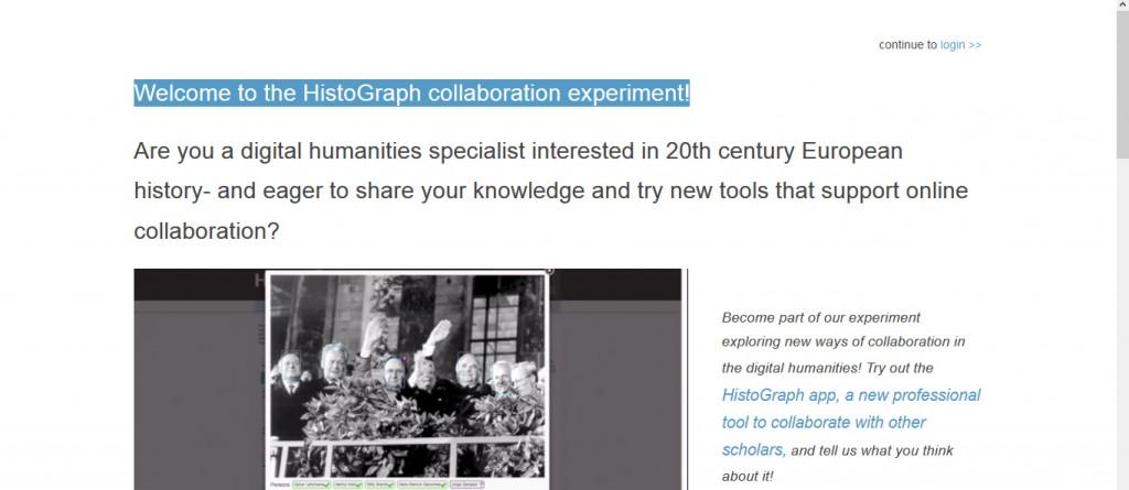 histoGraph, Screenshot