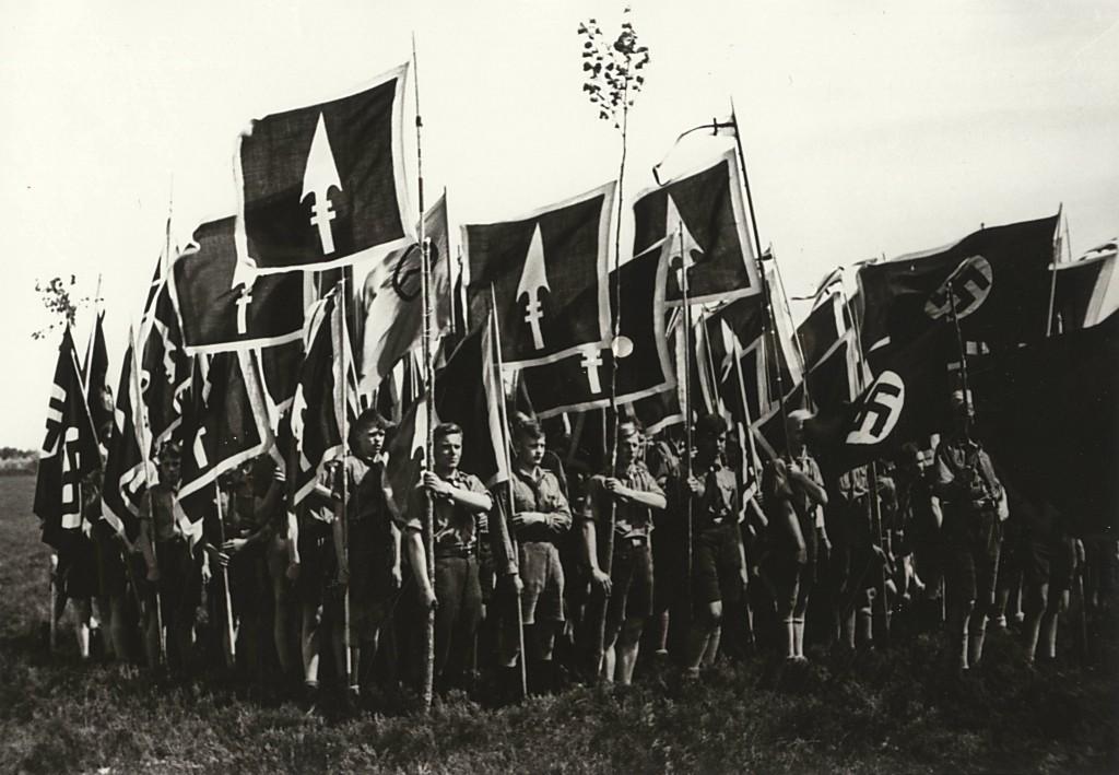Julius Groß (Fotograf), Bundestag des Großdeutschen Bundes in Munsterlager in der Lüneburger Heide zu Pfingsten 1933, Quelle: Archiv der deutschen Jugendbewegung © (AdJb) F1 615/105