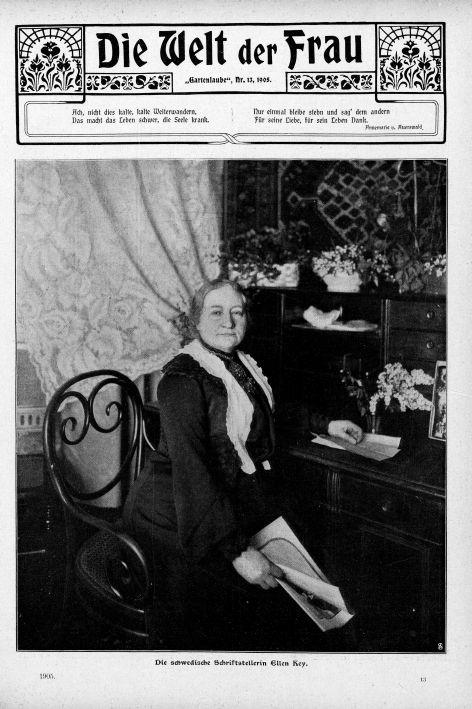 """Titelbild: """"Die Welt der Frau"""", 1905, Scherl Verlag"""