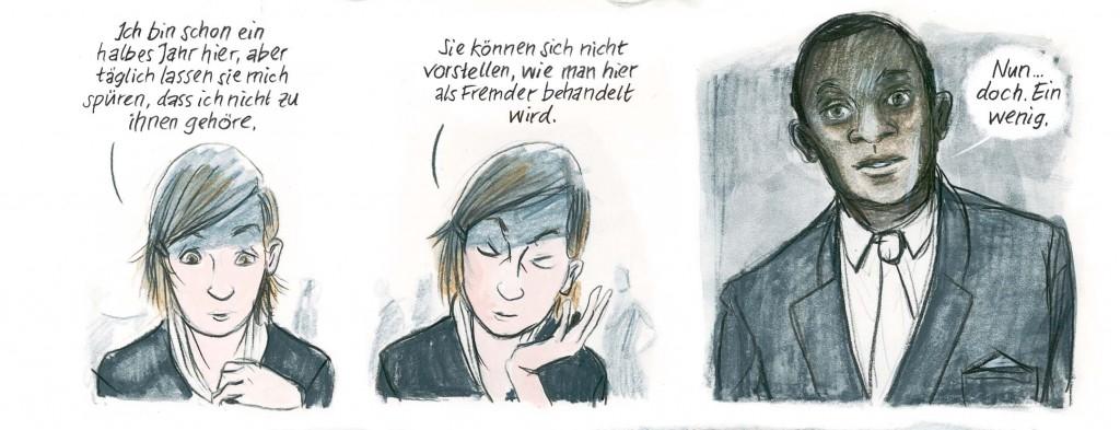 Bildfolge aus: Barbara Yelin: Irmina, Berlin, Reprodukt, 2014 © Reprodukt/ Yelin mit freundlicher Genehmigung