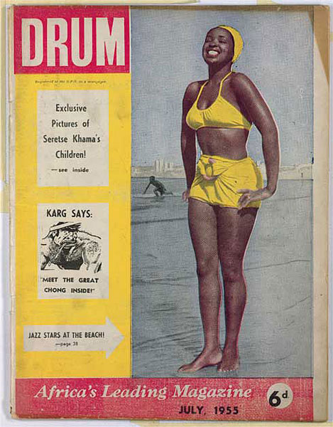 """Dieses Bild aus der Serie wurde zum Cover-Motiv """"Drum"""" July 1955 http://66.media.tumblr.com/tumblr_m21gbw7l4p1rt0bf2o3_500.jpg © Jürgen Schadeberg mit freundlicher Genehmigung"""