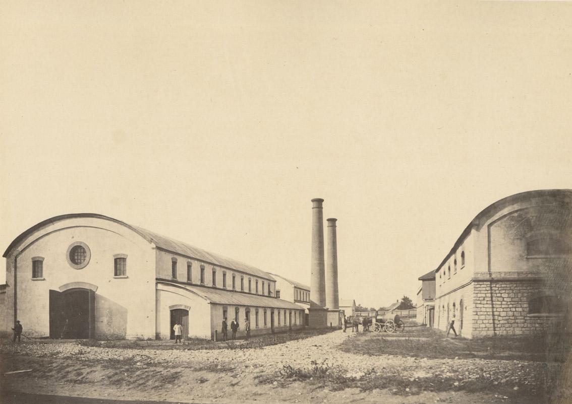 Andreas Groll: Paraffinfabrik in Orawitza, 1860 © Photoinstitut Bonartes mit freundlicher Genehmigung