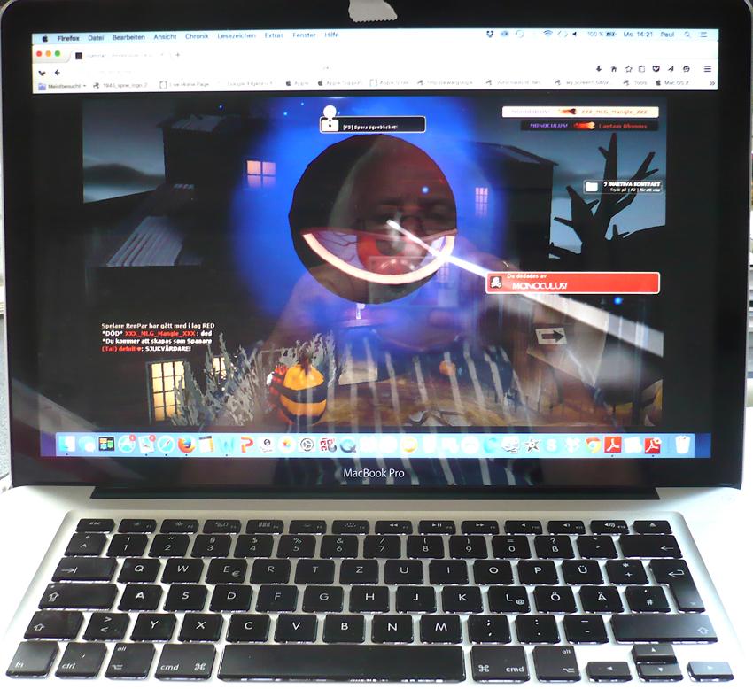 """""""Monoculus"""" eine gruselige """"Halloween-Ergänzung"""" zum Online-Taktik-Shooter """"Team Fortress II"""" von Valve (2011), Foto: Gerhard Paul © mit freundlicher Genehmigung"""