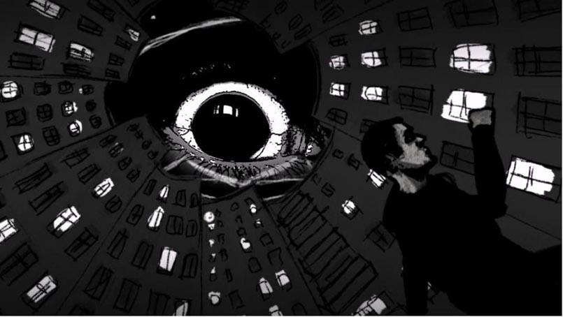 """Still aus dem Musicvideo PTK """"Auge des Gesetzes"""" 2014 von Deniz Zağlı © mit freundlicher Genehmigung"""