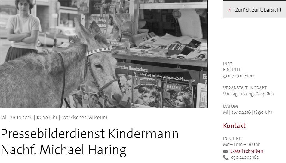 Pressebilderdienst Kindermann Nachf. Michael Haring /Stadtmuseum ©