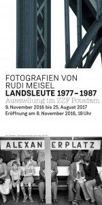 Fotografien von Rudi Meisel: LANDSLEUTE 1977-1987