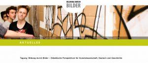 Tagung: Bildung durch Bilder – Didaktische Perspektiven