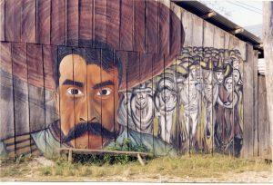 Zapatistische Wandmalerei
