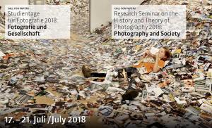 CFP: Studientage für Fotografie: Bewerbungen bis 15. April 2018