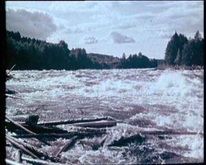 Hydroelektrische Projektionen