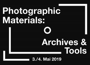 Symposium: Photographic Materials: Archives and Tools