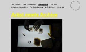 Artist Meets Archive