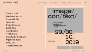 Symposium: image/con/text