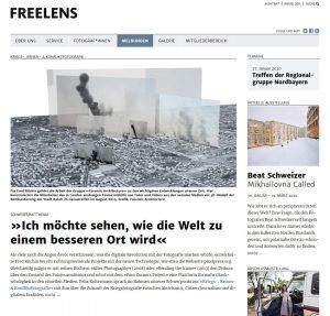 """""""Kriegs-, Krisen- und Konfliktfotografie"""