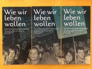 Wie wir leben wollen – Weimar 1989/90 in Fotografien von Klaus Bergmann